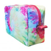 The Coral Palms® Tie Dye Cosmetic Bag