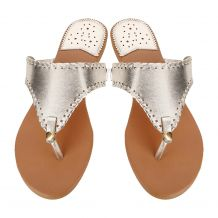 The Coral Palms� EasyStitch Celia T-Strap Sandal - CHAMPAGNE GOLD - CLOSEOUT