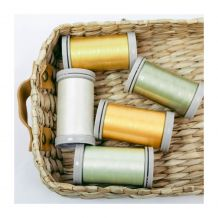 Quilters Select Para-Cotton Poly 80wt Quilting Thread - Tube of 5 - 400m Spools