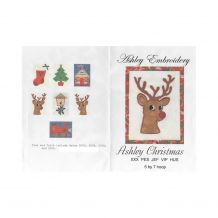 Christmas Applique Embroidery Designs by Ashley Embroidery on a Multi-Format CD-ROM ASH016 - CLOSEOUT