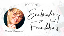 04.12.21: Embroidery Foundations 3-Part Series with Paula Bramwell