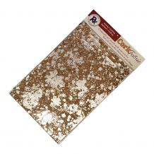 "RNK Cork Fabric - Package of 5 - 8.5"" x 11"" Sheets - Silver"