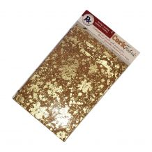"RNK Cork Fabric - Package of 5 - 8.5"" x 11"" Sheets - Gold"