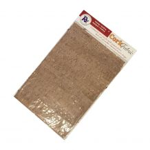 "RNK Cork Fabric - Package of 5 - 8.5"" x 11"" Sheets - Taupe"