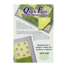 Quick Easy Mitered Binding Tool by Donelle McAdams