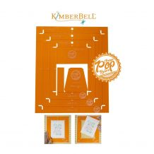 KimberBell Designs Orange Pop Ruler Rectangle Set