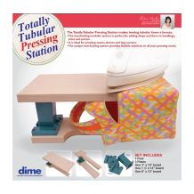 Totally Tubular Pressing Station by Eileen Roche DIME Designs by Machine Embroidery