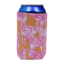 The Coral Palms® 12oz Neoprene Can Coolie - So Zebralicious Collection - CLOSEOUT