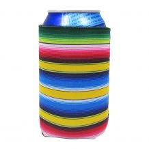 The Coral Palms® 12oz Neoprene Can Coolie - Serape Fiesta Collection - CLOSEOUT