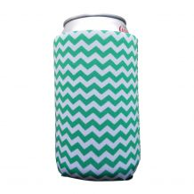 The Coral Palms® 12oz Neoprene Can Coolie - CHEVRON - CLOSEOUT