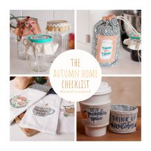 Embellish License to Create Autumn Home 9 Project Kit