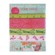 Tula Pink HomeMade Morning - Designer Ribbon Pack