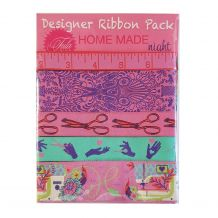 Tula Pink HomeMade Night - Designer Ribbon Pack