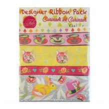 Tula Pink HomeMade Curiouser & Curiouser Wonder- Designer Ribbon Pack