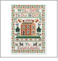 Traditional Samplers Embroidery Designs on CD from the Vermillion Stitchery 74100