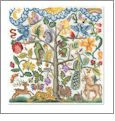 Tree of Life Cross Stitch Embroidery Designs by Vermillion Stitchery on a Multi-Format CD-ROM 74800