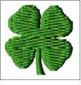 Shamrock - And Sew On Embroidery Free Embroidery Designs