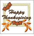 Happy Thanksgiving - And Sew On Embroidery Free Embroidery Designs