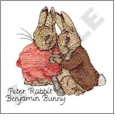 The Original Peter Rabbit by Beatrix Potter Embroidery Designs by Dakota Collectibles on a Multi-Format CD-ROM LS01001