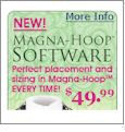 Magna-Hoop Embroidery Machine Software