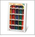 Amazing Designs Summer Sizzle Thread Collection 25 Spool Embroidery Thread Set