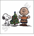 Peanuts Holiday Embroidery Designs on a Multi-Format CD-ROM LS0603