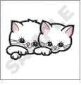 Cats Embroidery Designs by Gunold on a Multi-Format CD-ROM 970326