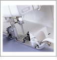 Serger Elastic Taping Application Foot SA212
