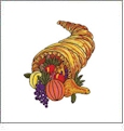 Bountiful Harvest Embroidery Designs by Amazing Designs on a Multi-Format CD-ROM ADC-62