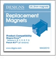 Replacement Magnets for Magna-Hoops