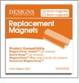 Replacement Magnets for Jumbo Magna-Hoops, Magna-Hoop Pro and Quick-Snap