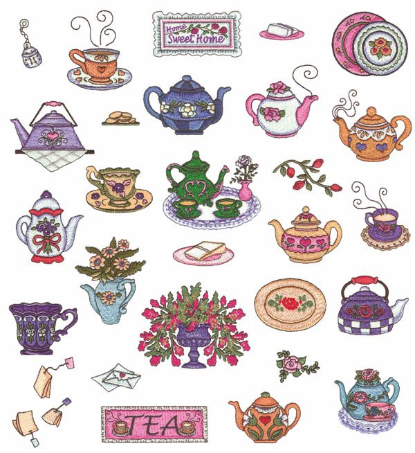 Embroidery Patterns Kitchen Towels Free Embroidery Patterns