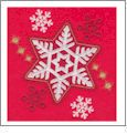 Whimsical Snowflake Embroidery Designs by John Deer's Adorable Ideas - Multi-Format CD-ROM AI-5898S