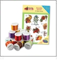 Bountiful Harvest Embroidery Designs with 18 Spool Madeira Thread Kit by Amazing Designs on a Multi-Format CD-ROM ADC-62TK