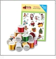 Christmas Embroidery Designs with 18 Spool Madeira Thread Kit by Amazing Designs on a Multi-Format CD-ROM ADC-25TK