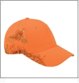 Blaze Orange Quail Dri-Duck Wildlife Series Cap Embroidery Blanks