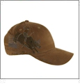 Brown Bull Rider Dri-Duck Wildlife Series Cap Embroidery Blanks