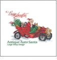 Busy Santas Embroidery Designs on CD from the Vermillion Stitchery 74300