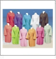 Cotton Waffle Knee-Length Robe Embroidery Blanks