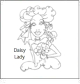 Lovely Ladies by Loralie Designs Embroidery Designs on a Multi-Format CD-ROM 630089