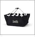 Foldable Market Tote Embroidery Blanks - BLACK