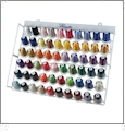 Brother New 63 Color Polyester Embroidery Thread Kit With Metal Rack ETKS63