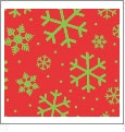 Let It Snow 13 - QuickStitch Embroidery Paper - One 8.5in x 11in Sheet- CLOSEOUT