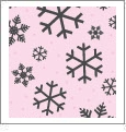 Let It Snow 10 - QuickStitch Embroidery Paper - One 8.5in x 11in Sheet - CLOSEOUT