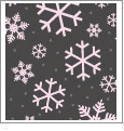 Let It Snow 09 - QuickStitch Embroidery Paper - One 8.5in x 11in Sheet - CLOSEOUT