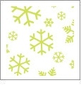Let It Snow 08 - QuickStitch Embroidery Paper - One 8.5in x 11in Sheet - CLOSEOUT