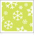 Let It Snow 03 - QuickStitch Embroidery Paper - One 8.5in x 11in Sheet - CLOSEOUT