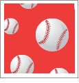 Baseball 11 - QuickStitch Embroidery Paper - One 8.5in x 11in Sheet