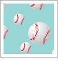 Baseball 08 - QuickStitch Embroidery Paper - One 8.5in x 11in Sheet