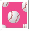 Baseball 07 - QuickStitch Embroidery Paper - One 8.5in x 11in Sheet